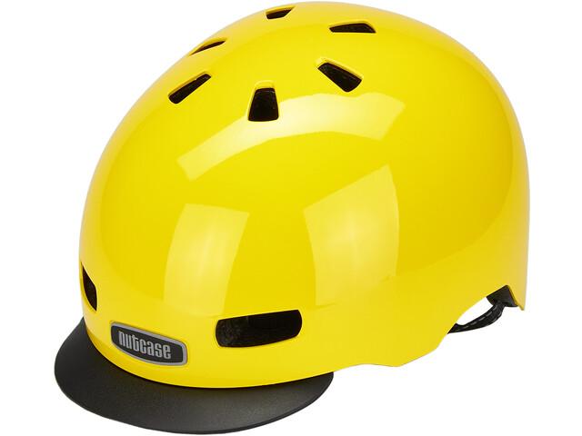 Nutcase Street MIPS Helm, geel